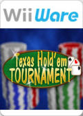 Texas Hold'em Tournament Wii Front Cover