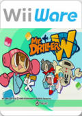 Mr. Driller W Wii Front Cover