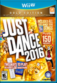 Just Dance 2016 (Gold Edition) Wii U Front Cover