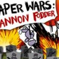 Paper Wars: Cannon Fodder PlayStation 3 Front Cover