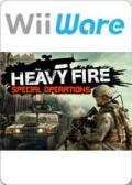 Heavy Fire: Special Operations Wii Front Cover