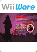 Carmen Sandiego Adventures in Math: The Great Gateway Grab Wii Front Cover