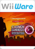 Carmen Sandiego Adventures in Math: The Lady Liberty Larceny Wii Front Cover