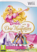 Barbie and the Three Musketeers Wii Front Cover
