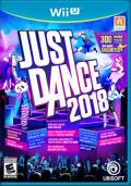 Just Dance 2018 Wii U Front Cover