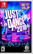 Just Dance 2018 Nintendo Switch Front Cover