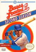Bases Loaded II: Second Season NES Front Cover