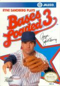 Bases Loaded 3 NES Front Cover