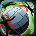 Zombie Ball iPhone Front Cover 2nd version