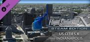 Microsoft Flight Simulator X: Steam Edition - US Cities X: Indianapolis Windows Front Cover