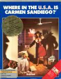 Where in the U.S.A. Is Carmen Sandiego? Commodore 64 Front Cover