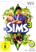 The Sims 3 Wii Front Cover