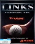 Links: Championship Course - Firestone Country Club DOS Front Cover
