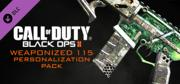 Call of Duty: Black Ops II - Weaponized 115 Personalization Pack Windows Front Cover