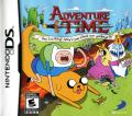 Adventure Time: Hey Ice King Why'd You Steal Our Garbage?!! Nintendo DS Front Cover