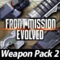 Front Mission Evolved: Weapon Pack 2 PlayStation 3 Front Cover