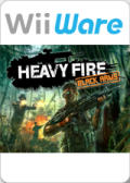 Heavy Fire: Black Arms Wii Front Cover