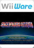 Space Invaders Get Even Wii Front Cover