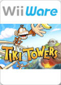 Tiki Towers Wii Front Cover