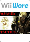 WarMen Tactics Wii Front Cover