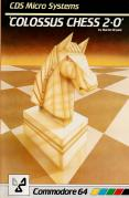 Colossus Chess 2∙0 Commodore 64 Front Cover