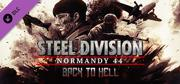 Steel Division: Normandy 44 - Back to Hell Windows Front Cover