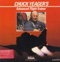 Chuck Yeager's Advanced Flight Simulator Apple II Front Cover
