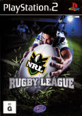 NRL Rugby League PlayStation 2 Front Cover