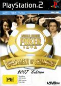 World Series of Poker: Tournament of Champions PlayStation 2 Front Cover