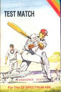 Test Match + One Day Cricket ZX Spectrum Front Cover
