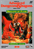Dragons of Flame NES Front Cover