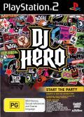 DJ Hero PlayStation 2 Front Cover