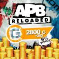 APB: Reloaded - 2800 G1C PlayStation 4 Front Cover
