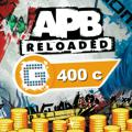 APB: Reloaded - 400 G1C PlayStation 4 Front Cover