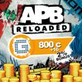 APB: Reloaded - 800 G1C PlayStation 4 Front Cover