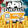 APB: Reloaded - 4000 G1C PlayStation 4 Front Cover