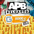 APB: Reloaded - 8000 G1C PlayStation 4 Front Cover