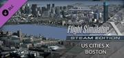 Microsoft Flight Simulator X: Steam Edition - US Cities X: Boston Windows Front Cover