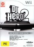 DJ Hero 2 Wii Front Cover