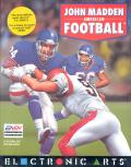 John Madden Football Amiga Front Cover