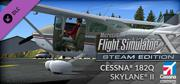 Microsoft Flight Simulator X: Steam Edition - Cessna 182Q Skylane II Windows Front Cover