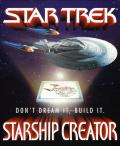 Star Trek: Starship Creator Macintosh Front Cover