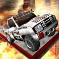 Offroad Truck Multi Racers iPad Front Cover