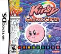 Kirby: Canvas Curse Nintendo DS Front Cover