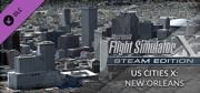 Microsoft Flight Simulator X: Steam Edition - US Cities X: New Orleans Windows Front Cover