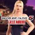 Dead or Alive 5: Last Round - Gust Mashup Swimwear: Rachel & Ruenheid PlayStation 4 Front Cover