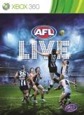 AFL Live Xbox 360 Front Cover