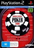World Series of Poker 2008: Battle for the Bracelets PlayStation 2 Front Cover