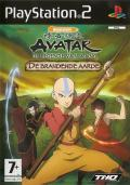 Avatar: The Last Airbender - The Burning Earth PlayStation 2 Front Cover