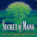 Secret of Mana (Digital Premium Edition) PlayStation 4 Front Cover